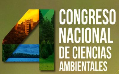 Cuarto Congreso Nacional de Ciencias Ambientales en Colombia