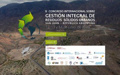 Redes de ARIUSA participan en el Congreso Internacional sobre Gestión Integral de Residuos Sólidos Urbanos