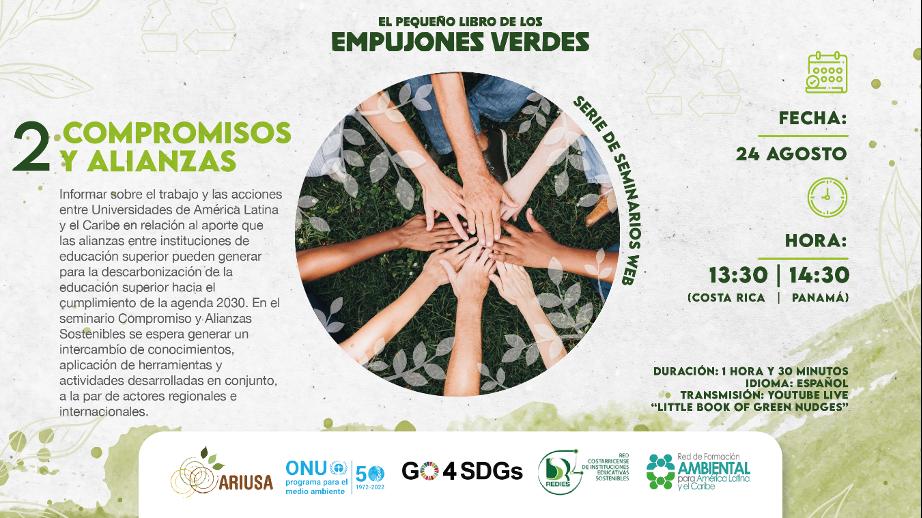Segundo Seminario Web de Empujones Verdes